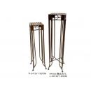 y03110 鐵材藝術系列-鐵材家飾-復古方几