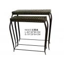 y03111-鐵材藝術系列-鐵材家飾-玄關桌