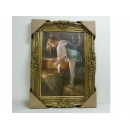 芭蕾舞女孩-PA070025(訂製品)-y03156-油畫