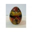 琉璃彩蛋(黃) y03280 水晶飾品系列-琉璃水晶