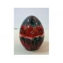 琉璃彩蛋(紅) y03281 水晶飾品系列-琉璃水晶