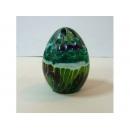 琉璃彩蛋(綠) y03822 水晶飾品系列