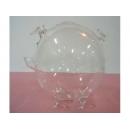 玻璃豬(白) y03286 水晶飾品系列