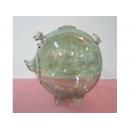 玻璃豬(綠) y03287 水晶飾品系列