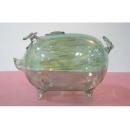 玻璃豬(綠) y03288 水晶飾品系列