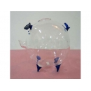 玻璃豬(藍) y03289 水晶飾品系列
