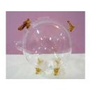 玻璃豬(黃) y03290 水晶飾品系列