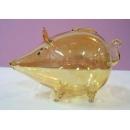 玻璃鼠(黃) y03291 水晶飾品系列