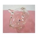 玻璃豬(白) y03292 水晶飾品系列
