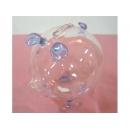 玻璃豬(藍) y03294 水晶飾品系列