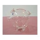 玻璃豬(白) y03295 水晶飾品系列