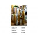 y03341 (花器) 箔金三件組