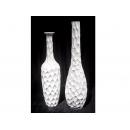 y03409 花器 亮白 蜂巢高瓶 (大)(已售完)