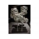 光鎳 多面人像 y03423  立體雕塑.擺飾 立體擺飾系列-幾何、抽象系列