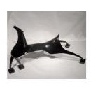 黑色裝飾馬 y03473  立體雕塑.擺飾 立體擺飾系列-動物、人物系列