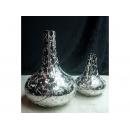 y03497 花器 光鎳 葫蘆花瓶(大)(已售完)