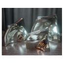 光鎳 扭曲扁口擺飾 y03515  立體雕塑.擺飾 立體擺飾系列-幾何、抽象系列