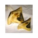 紅金 扭曲扁口擺飾 y03514 立體雕塑.擺飾 立體擺飾系列-幾何、抽象系列