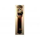壁掛型機械鐘 y03518 壁掛型 時鐘.溫度計.鏡子 機械鐘(無庫存)