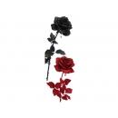 y03724-花材花藝果樹-花材-玫瑰(紅、黑)