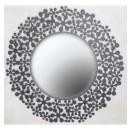 鑄鐵化妝鏡 y03742 時鐘.溫度計.鏡子 鏡子 鑄鐵擺飾(缺貨中)