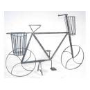 y03747 鑄鐵花架-鑄鐵腳踏車花架
