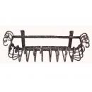y03749 鐵材藝術-鍛鐵置物架