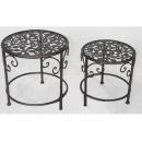 y03755 鐵材藝術系列-鐵材家飾-鐵材子母桌