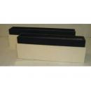 y03766 花器-木器花器-黑白相間長型花器組-大131小130(無庫存)
