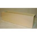 y03768 花器-木器花器-米白色長型花器122