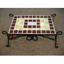 y03826 鐵材藝術-馬賽克系列-馬賽克長桌造型擺飾