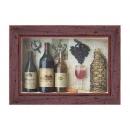 y03855 立體壁飾-立體畫-葡萄酒 CA90102