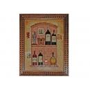 y03868 立體壁飾-立體畫-酒瓶 CQ26045