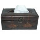 y03922 皮革面紙盒