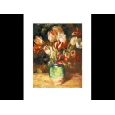 y09500 複製畫 Renoir-Tulips in a Vase-PF636