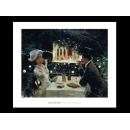 y09505 複製畫 Beraud-Dinner at Les Ambassadeurs-B1435