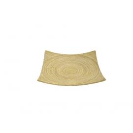 y09552 進口手工竹方盤-自然