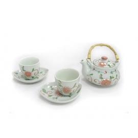 y09563 日式野菊茶具組