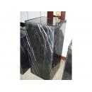 y09690羅馬柱花台展示台-大理石展示台(黑雲石) 80cm(另有尺寸60cm)