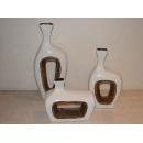 y09703陶瓷白花器DI-14/3(小)