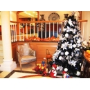 y09720七尺圓頭聖誕樹(不含裝飾品)(黑色481045)
