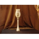 poly(樹脂)材質-白金色花瓶 y09781 立體雕塑.擺飾 立體擺飾系列-器皿、花器系列