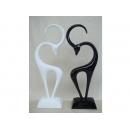 黑白鹿 y09782 立體雕塑.擺飾 立體雕塑系列-動物雕塑系列---無庫存