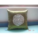 y09824貝殼綠色抱枕