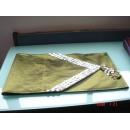 y09840貝殼桌旗-深綠色
