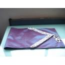 y09842貝殼桌旗-藍色