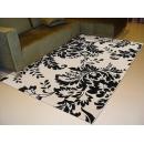 y09863時尚比利時黑與白圖騰地毯
