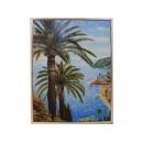 義大利海洋風景版畫EK-3764B(洗白框)(y09877-64*84cm含框尺寸)