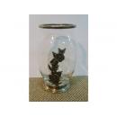 y09901義大利玻璃錫花瓶