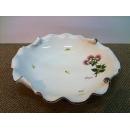 y09905義大利原裝進口陶瓷小繡球花水果盤